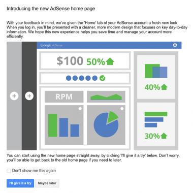 Noul Google Adsense