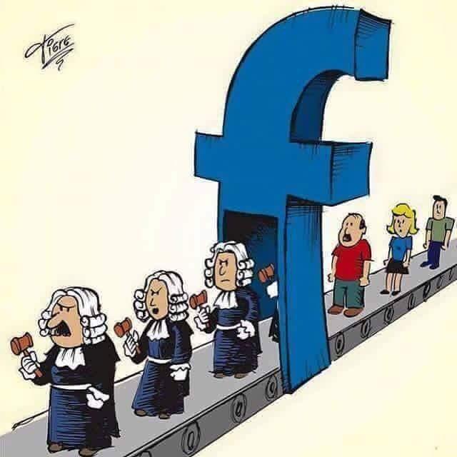 judecatori pe facebook